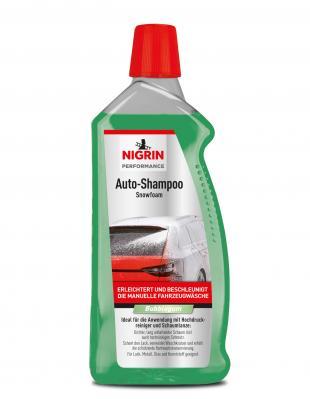 NIGRIN Performance Auto-Shampoo Snowfoam  (Bubblegum 1000 ml)