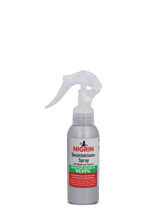 NIGRIN Desinfektions-Spray für Hände und Flächen (100 ml)