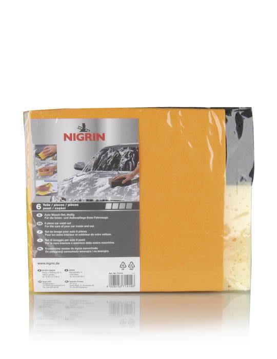 NIGRIN Auto Wasch-Set  (6-tlg.)