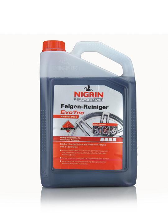 NIGRIN Performance Felgen-Reiniger EvoTec (3 Liter Nachfüll-Pack)