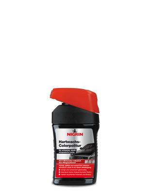 NIGRIN Hartwachs-Colorpolitur  (Schwarz 300ml)
