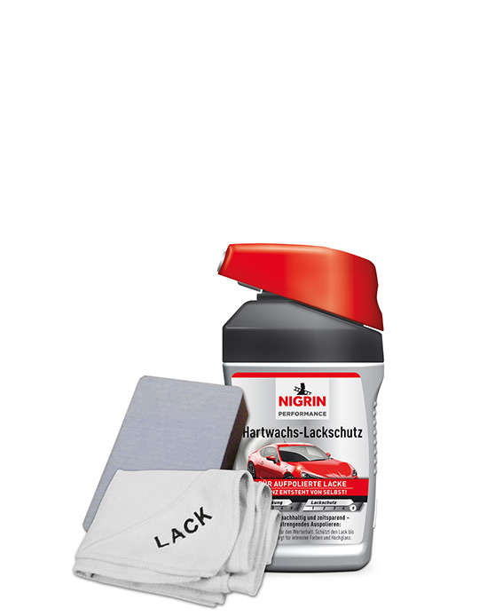 NIGRIN Performance Hartwachs-Lackschutz Turbo (300ml)