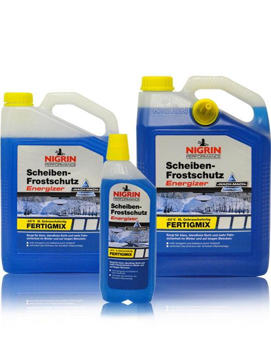 NIGRIN Performance Scheiben- Frostschutz Energizer -22°C (5 Liter)