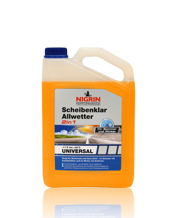 NIGRIN Performance Scheibenklar Allwetter 2in1 -11° (3 Liter)