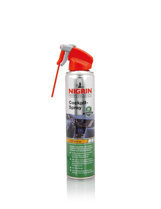 NIGRIN Performance Cockpit-Spray  (Orange 400ml)