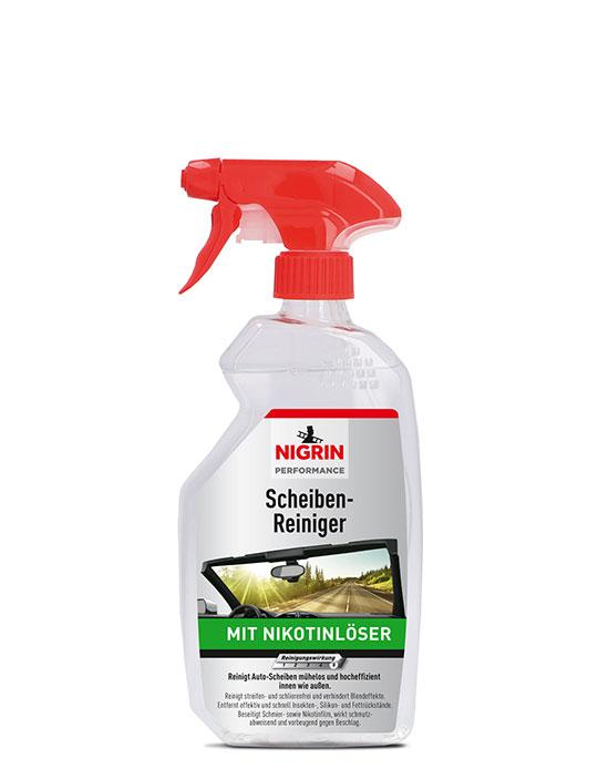 NIGRIN Performance Scheiben-Reiniger mit Nikotinlöser (500ml)
