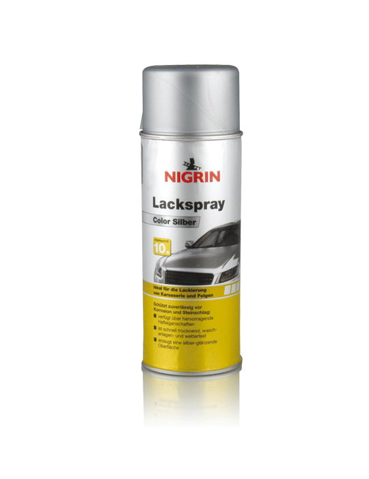 NIGRIN Lackspray Color Silber  (400ml)