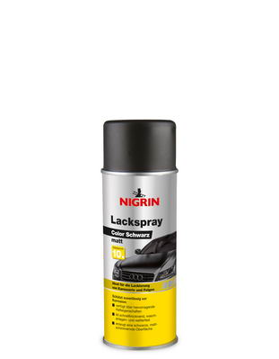 NIGRIN Lackspray Color Schwarz matt (400ml)