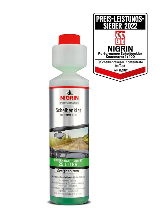 NIGRIN Performance Scheibenklar Konzentrat 1:100