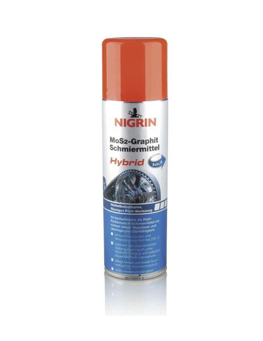 NIGRIN MoS2-Graphit Schmiermittel Hybrid (250 ml)