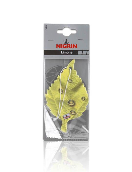 NIGRIN Duftblatt Einzelpack  (Limone)