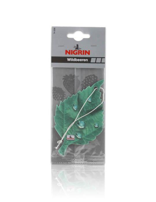 NIGRIN Lufterfrischer Duftblatt Einzelpack  (Wildbeeren)