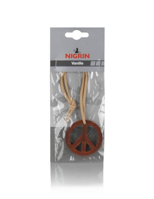 """NIGRIN Lufterfrischer  """"PEACE""""  (Vanille)"""