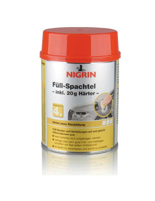 NIGRIN Füllspachtel 250g (245g + Härter)