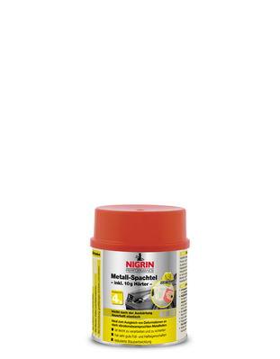 NIGRIN Metall-Spachtel 490g + 10g Härter (500g)
