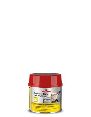 NIGRIN Polyester-Harz 500g (490 g + Härter)